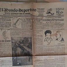 Coleccionismo deportivo: 15 OCT 1923 SUSPENSION 1ª JORNADA LIGA CATALANA POR LLUVIA * PREVIO A LA EXISTENCIA DE LIGA ESPAÑOLA. Lote 58105477