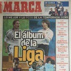 Coleccionismo deportivo: MARCA 9 JULIO 1999 LA LIGA. Lote 58113525