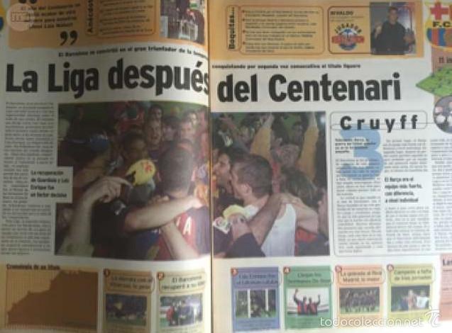 Coleccionismo deportivo: MARCA 9 JULIO 1999 LA LIGA - Foto 2 - 58113525