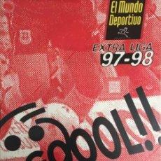 Coleccionismo deportivo: SUPLEMENTO EL MUNDO DEPORTIVO LIGA 97 98. Lote 58113611
