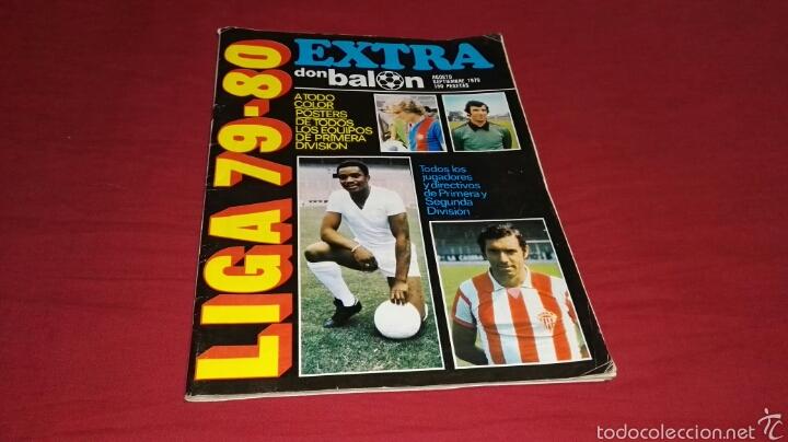 REVISTA EXTRA DON BALON AÑO 79 - 80 (Coleccionismo Deportivo - Revistas y Periódicos - Don Balón)