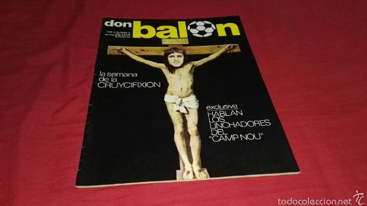 REVISTA DON BALON NUMERO 71 DEL AÑO 1977 (Coleccionismo Deportivo - Revistas y Periódicos - Don Balón)