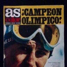 Coleccionismo deportivo: REVISTA AS COLOR 39 AÑO 1972. Lote 58156714