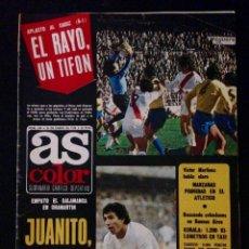 Coleccionismo deportivo: REVISTA AS COLOR 349 AÑO 1978. Lote 58157794