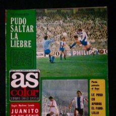 Coleccionismo deportivo: REVISTA AS COLOR 351 AÑO 1978. Lote 58157950