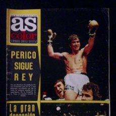 Coleccionismo deportivo: REVISTA AS COLOR 205 AÑO 1975. Lote 58158988