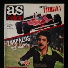 Coleccionismo deportivo: REVISTA AS COLOR 471 AÑO 1980 ESPECIAL FORMULA 1. Lote 58159086