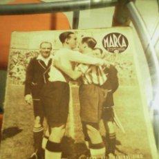 Coleccionismo deportivo: REVISTA DEPORTIVA MARCA MAYO DE 1942. ATLÉTICO AVIACIÓN BATE A LA U.D. SALAMANCA. . Lote 58160720