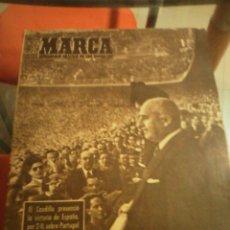Coleccionismo deportivo: REVISTA DEPORTIVA MARCA MARZO DE 1948. VICTORIA DE ESPAÑA SOBRE PORTUGAL. . Lote 58160995