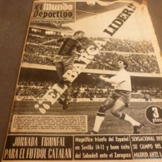 Coleccionismo deportivo: MUNDO DEPORTIVO(18-12-67) CAMP NOU,BARÇA 1 MÁLAGA 0,EL CROSS DE GRANOLLERS.. Lote 58163162