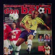 Coleccionismo deportivo: REVISTA DON BALON 1186 AÑO 1998. Lote 58173948