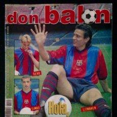 Coleccionismo deportivo: REVISTA DON BALON 1235 AÑO 1999. Lote 58174023