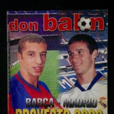 Coleccionismo deportivo: REVISTA DON BALON 1238 AÑO 1999. Lote 58174076