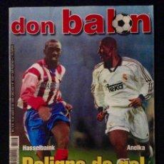 Coleccionismo deportivo: REVISTA DON BALON 1243 AÑO 1999. Lote 58174469
