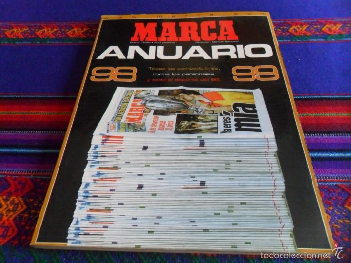 MARCA ANUARIO 98 99. 400 PTS. 220 PÁGINAS. BUEN ESTADO. (Coleccionismo Deportivo - Revistas y Periódicos - Marca)