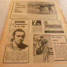 Collezionismo sportivo: MUNDO DEPORTIVO(6-4-74)BARÇA PUEDE SER CAMPEÓN MAÑANA EN GIJÓN,QUINI GOLEADOR,CASZELY,BUNDESLIGA.. Lote 58325331