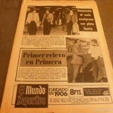 Colecionismo desportivo: MUNDO DEPORTIVO(27-11-74)HOY BARÇA-ALEMANIA 75 ANIVERSARIO,BORUSSIA-ZARAGOZA,THOMAS(BASKET)ESPAÑOL.. Lote 58372883