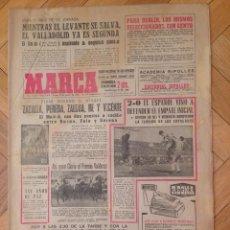 Coleccionismo deportivo: DIARIO MARCA 30 MARZO 1964 TORNEO UEFA ESPAÑA HUNGRIA VALLADOLID BETIS MURCIA ESPAÑOL GENTO DUBLIN. Lote 58406076