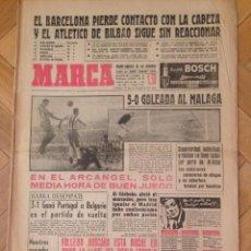 Coleccionismo deportivo: DIARIO MARCA 17 DICIEMBRE 1962 DI STEFANO REAL MADRID MALAGA BARCELONA ATHLETIC FOLLEDO. Lote 58406725