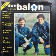 Coleccionismo deportivo: OCASION UNICA COLECCIONISTAS REVISTA DON BALON UNICA EN TC ! Nº 386 1983 FOTOS PLANTILLA MALAGA. Lote 58414139
