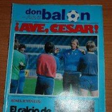 Coleccionismo deportivo: OCASION UNICA COLECCIONISTAS REVISTA DON BALON ! Nº 388 1983 MARADONA , ROMA JUVENTUD. Lote 58414196