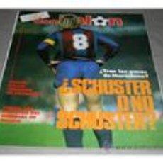 Coleccionismo deportivo: OCASION COLECCIONISTAS REVISTA DON BALON ! Nº 533 534 Y 539 1986 SCHUSTER, LUIS ARAGONES, TOSHACK. Lote 118113435