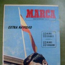 Coleccionismo deportivo: ANTIGUO PERIÓDICO MARCA - EXTRA DE NAVIDAD 1970 - EN PERFECTO ESTADO. Lote 58957205