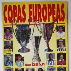 Coleccionismo deportivo: DON BALÓN EXTRA Nº38 COPAS EUROPEAS. Lote 58193140