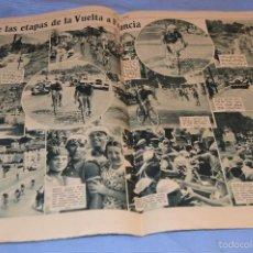 Coleccionismo deportivo: AS - 161 – 22 JULIO 1935 – ÚLTIMA SEMANA VUELTA CICLISTA FRANCIA ¡FOTOS Y REPORTAJES IMPRESIONANTE!. Lote 59072335