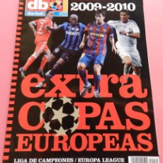 Coleccionismo deportivo: REVISTA EXTRA COPAS EUROPEAS 2009-2010 GUIA DON BALON CHAMPIONS LEAGUE UEFA CUP 09/10 LIGA CAMPEONES. Lote 66028382
