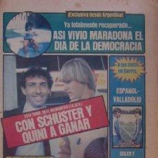 Coleccionismo deportivo: DIARIO SPORT DEL 11 DE DICIEMBRE DE 1983 - SCHUSTER Y QUINI. Lote 59490043
