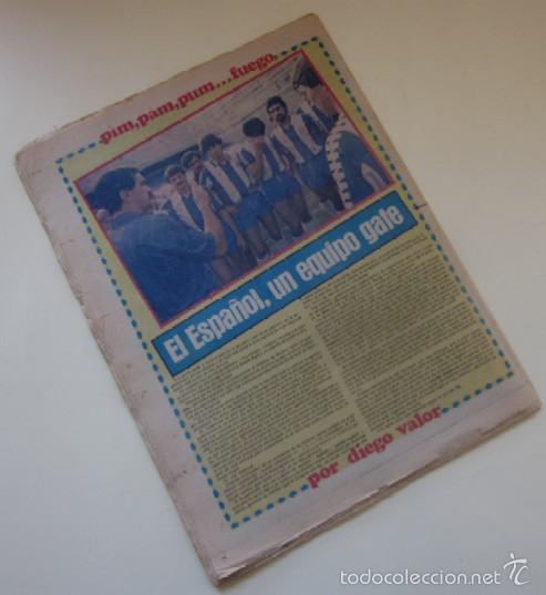 Coleccionismo deportivo: DIARIO SPORT DEL 11 DE DICIEMBRE DE 1983 - SCHUSTER Y QUINI - Foto 4 - 59490043