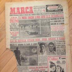 Coleccionismo deportivo: DIARIO MARCA 14 ENERO 1957 ATLETICO MADRID METROPOLITANO SEVILLA. Lote 59518987