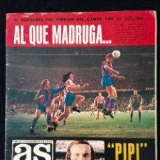 Coleccionismo deportivo: REVISTA AS COLOR 231 BARCELONA-ATLETICO MADRID-SELECCION ESPAÑA-BOXEO ETC. Lote 59632367