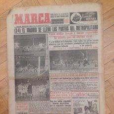 Coleccionismo deportivo: DIARIO MARCA 2 NOVIEMBRE 1953 ATLETICO MADRID 3-4 REAL MADRID LISTA ESPAÑA SUECIA . Lote 59708667