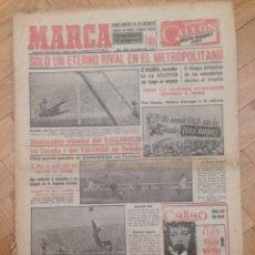 Coleccionismo deportivo: DIARIO MARCA 17 NOVIEMBRE 1952 FOTOS ATLETICO MADRID REAL MADRID EN EL METROPOLITANO TORRERO . Lote 59709775