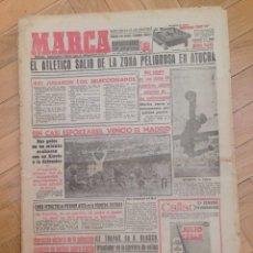 Coleccionismo deportivo: DIARIO MARCA 14 FEBRERO 1955 ATLETICO MADRID REAL SOCIEDAD ALAVES REAL MADRID BERASALUCE. Lote 59711135