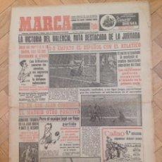 Coleccionismo deportivo: DIARIO MARCA 11 ENERO 1954 SAN JUAN REAL MADRID ATLETICO MADRID ESPAÑOL METROPOLITANO. Lote 59712863