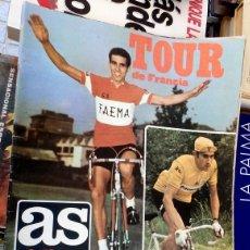 Coleccionismo deportivo: REVISTA DEPORTIVA AS COLOR ESPECIAL TOUR DE FRANCIA,1971,80 PAGINAS, POSTER DE BAHAMONTES. Lote 59920695