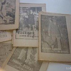 Coleccionismo deportivo: 40 DIAS 40 ASES 40 BIOGRAFIAS-DE MARCA 1963 39 EJEMPLARES DE DIVERSOS DEPORTISTAS DE ELITE(VER). Lote 59956143