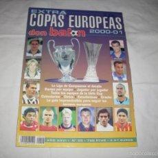 Coleccionismo deportivo: -DON BALON : EXTRA COPAS EUROPEAS 2000-2001 . Lote 59981507