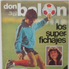 Coleccionismo deportivo: REVISTA DON BALON Nº 240 DEL 13 AL 19 DE MAYO 1980. Lote 60017399