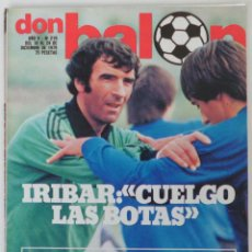 Coleccionismo deportivo: REVISTA DON BALON Nº 219 DEL 18 AL 24 DE DICIEMBRE 1979 . Lote 60023131