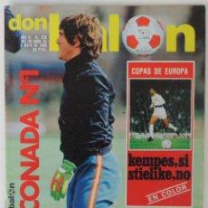 Coleccionismo deportivo: REVISTA DON BALON Nº 238 DEL 29 DE ABRIL AL 5 DE MAYO 1980 . Lote 60024739