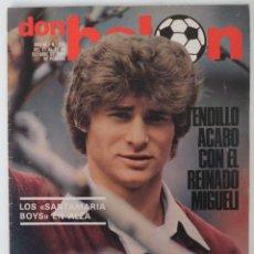 Coleccionismo deportivo: REVISTA DON BALON Nº 263 DEL 21 AL 27 DE OCTUBRE 1980 POSTER VALENCIA 80-81. Lote 60071783