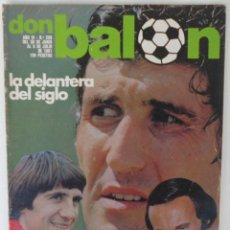 Coleccionismo deportivo: REVISTA DON BALON Nº 299 DEL 30 DE JUNIO AL 6 DE JULIO DE 1981 CON POSTER DE FERRERO. Lote 60075679
