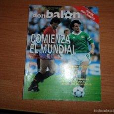 Coleccionismo deportivo: DON BALON Nº 682 1988 CONTIENE EL DIFICIL APENDICE DEL EXTRA LIGA 88 89 DE 50 PAGINAS Y EL POSTER. Lote 60194911