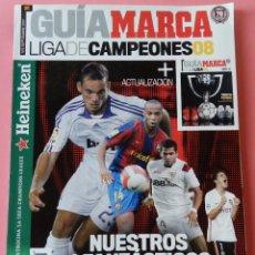 Coleccionismo deportivo: EXTRA MARCA GUIA LIGA DE CAMPEONES 2007/2008 - ACTUALIZACION LIGA 07/08 - ESPECIAL CHAMPIONS LEAGUE. Lote 60213067