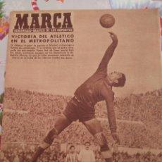 Coleccionismo deportivo: DERBI EN EL METROPOLITANO AT. MADRID 1-0 REAL MADRID. Lote 60356219