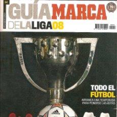 Coleccionismo deportivo: GUÍA DE LA LIGA MARCA 2007/08 07/08 . Lote 60360795